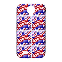 Happy 4th Of July Theme Pattern Samsung Galaxy S4 Classic Hardshell Case (PC+Silicone)