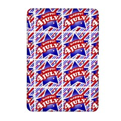 Happy 4th Of July Theme Pattern Samsung Galaxy Tab 2 (10.1 ) P5100 Hardshell Case