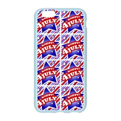 Happy 4th Of July Theme Pattern Apple Seamless iPhone 6/6S Case (Color)