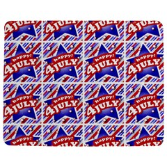 Happy 4th Of July Theme Pattern Jigsaw Puzzle Photo Stand (Rectangular)
