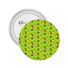Dinosaurs pattern 2.25  Buttons