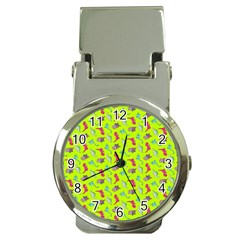 Dinosaurs pattern Money Clip Watches