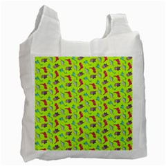 Dinosaurs pattern Recycle Bag (One Side)