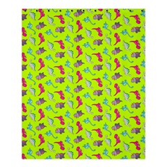 Dinosaurs pattern Shower Curtain 60  x 72  (Medium)