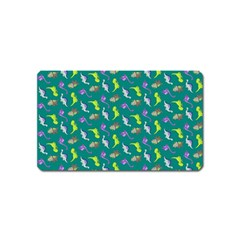 Dinosaurs pattern Magnet (Name Card)