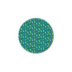 Dinosaurs pattern Golf Ball Marker