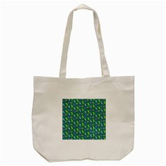 Dinosaurs Pattern Tote Bag (cream)