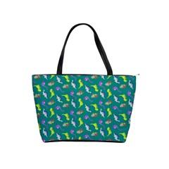 Dinosaurs pattern Shoulder Handbags