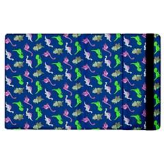 Dinosaurs pattern Apple iPad 2 Flip Case