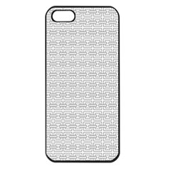 Pattern Apple iPhone 5 Seamless Case (Black)