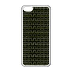 Pattern Apple iPhone 5C Seamless Case (White)