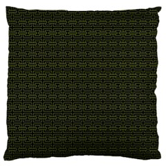 Pattern Large Flano Cushion Case (One Side)