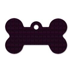 Pattern Dog Tag Bone (Two Sides)