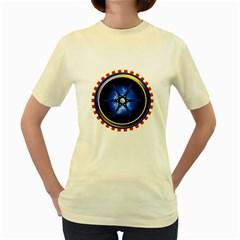 Power Core Women s Yellow T Shirt