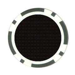 Pattern Poker Chip Card Guard