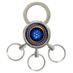 Power Core 3 Ring Key Chains