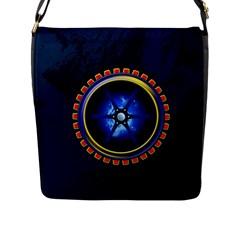 Power Core Flap Messenger Bag (l)
