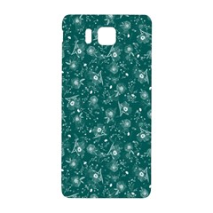 Floral pattern Samsung Galaxy Alpha Hardshell Back Case