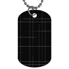 Constant Disappearance Lines Hints Existence Larger Stricter System Exists Through Constant Renewal Dog Tag (One Side)