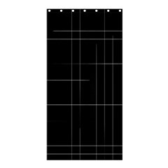 Constant Disappearance Lines Hints Existence Larger Stricter System Exists Through Constant Renewal Shower Curtain 36  X 72  (stall)