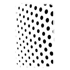 Polka Dot Black Circle Memory Card Reader