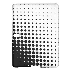 Comic Dots Polka Black White Samsung Galaxy Tab S (10.5 ) Hardshell Case