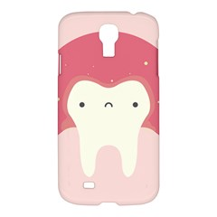 Sad Tooth Pink Samsung Galaxy S4 I9500/I9505 Hardshell Case