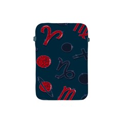 Zodiac Signs Planets Blue Red Space Apple iPad Mini Protective Soft Cases