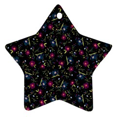 Floral pattern Ornament (Star)