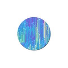Vertical Behance Line Polka Dot Blue Green Purple Golf Ball Marker (10 pack)