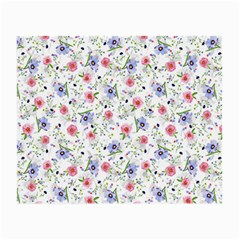Floral Pattern Small Glasses Cloth (2 Side)