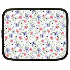 Floral pattern Netbook Case (XXL)
