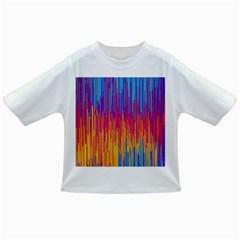 Vertical Behance Line Polka Dot Blue Red Orange Infant/Toddler T-Shirts