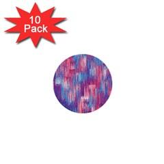 Vertical Behance Line Polka Dot Blue Green Purple Red Blue Small 1  Mini Buttons (10 pack)