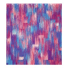 Vertical Behance Line Polka Dot Blue Green Purple Red Blue Small Shower Curtain 66  x 72  (Large)