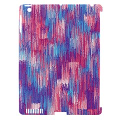 Vertical Behance Line Polka Dot Blue Green Purple Red Blue Small Apple Ipad 3/4 Hardshell Case (compatible With Smart Cover)