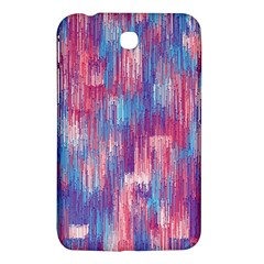 Vertical Behance Line Polka Dot Blue Green Purple Red Blue Small Samsung Galaxy Tab 3 (7 ) P3200 Hardshell Case