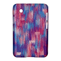 Vertical Behance Line Polka Dot Blue Green Purple Red Blue Small Samsung Galaxy Tab 2 (7 ) P3100 Hardshell Case
