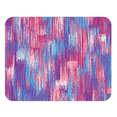 Vertical Behance Line Polka Dot Blue Green Purple Red Blue Small Double Sided Flano Blanket (large)