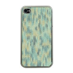 Vertical Behance Line Polka Dot Grey Apple iPhone 4 Case (Clear)