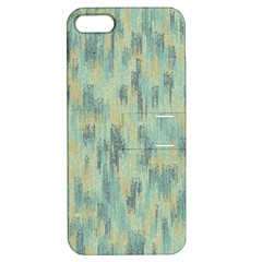 Vertical Behance Line Polka Dot Grey Apple iPhone 5 Hardshell Case with Stand