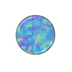 Vertical Behance Line Polka Dot Purple Green Blue Hat Clip Ball Marker