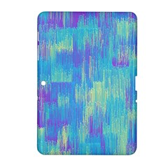 Vertical Behance Line Polka Dot Purple Green Blue Samsung Galaxy Tab 2 (10.1 ) P5100 Hardshell Case