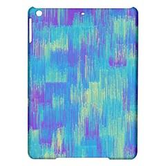 Vertical Behance Line Polka Dot Purple Green Blue iPad Air Hardshell Cases
