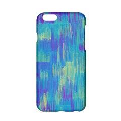 Vertical Behance Line Polka Dot Purple Green Blue Apple iPhone 6/6S Hardshell Case
