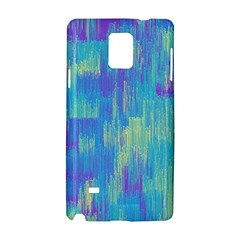 Vertical Behance Line Polka Dot Purple Green Blue Samsung Galaxy Note 4 Hardshell Case