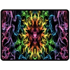 Getting Started With Generative Media Militia Fire Double Sided Fleece Blanket (Large)