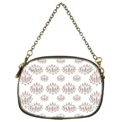 Dot Lotus Flower Flower Floral Chain Purses (Two Sides)