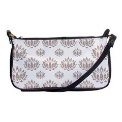 Dot Lotus Flower Flower Floral Shoulder Clutch Bags