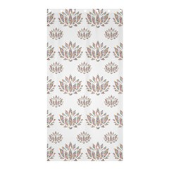 Dot Lotus Flower Flower Floral Shower Curtain 36  x 72  (Stall)